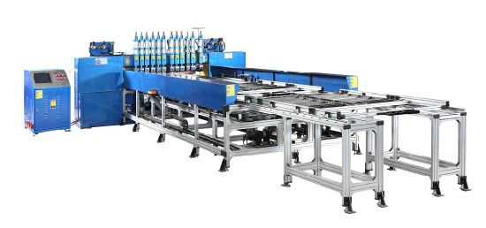 Semi-Automatic Bundy Tube Condenser Double Fixtures and Trolleys Welding Machine