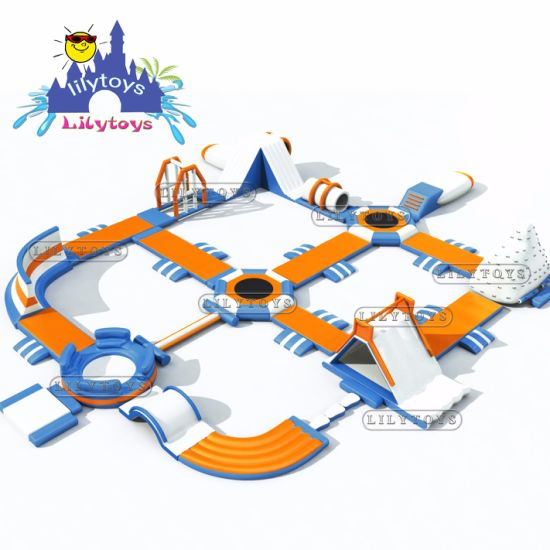 Inflatable Floating Water Park, Inflatable Water Amusement Park for Water Games pictures & photos