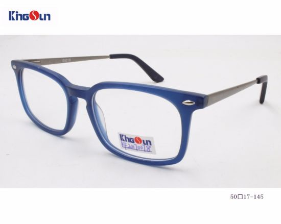 73012a5c9da Free Sample Optical Frame Eyewear Blue Rectangle Glasses Frame Acetate Eyeglass  Frame Kf1357 pictures   photos