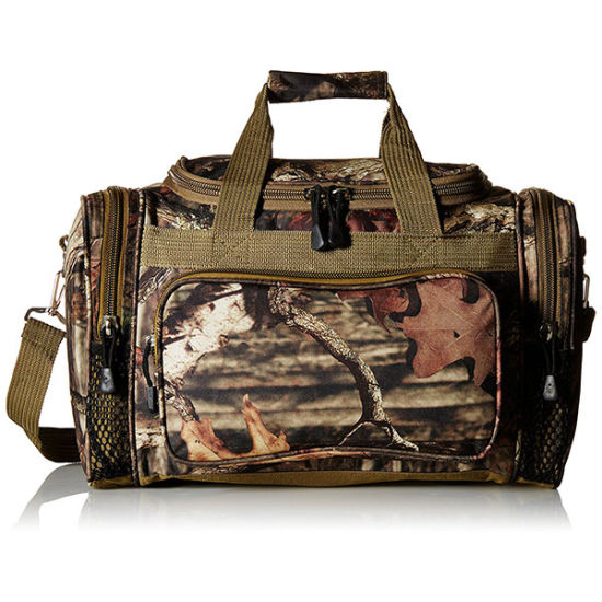 Multi Function Outdoor Military Large Travel Camo Leaf Duffle Bag