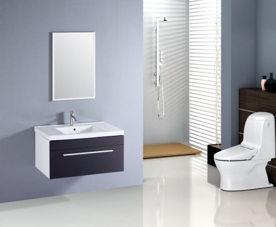 Modern Furniture Bathroom Basin Cabinet MDF Sanitary Ware