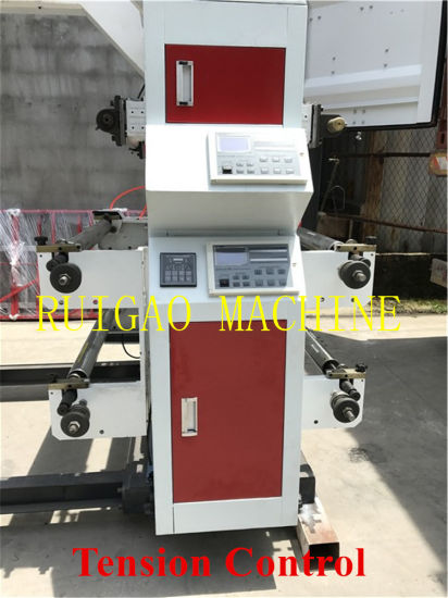 High Quality 6 Colors Paper Bag & Plastic Film Flexo Printing Machine Price pictures & photos