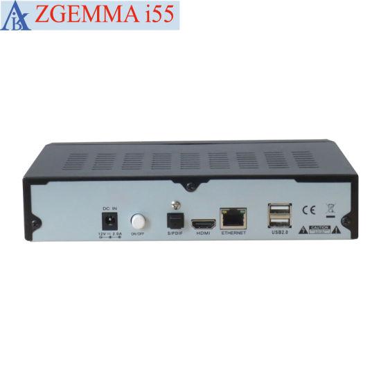International IPTV Zgemma I55 Internet TV Decoder with Enigma2