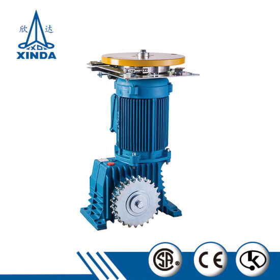 China Escalator Parts Main Engine Escalator Driving Machine