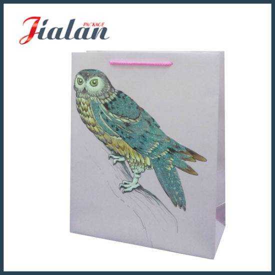 Wholesales Classical Design Customize Logo Printed Cheap Paper Gift Bag pictures & photos