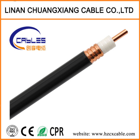 China High Quality 7/8 RF Underground Copper Telephone Cable