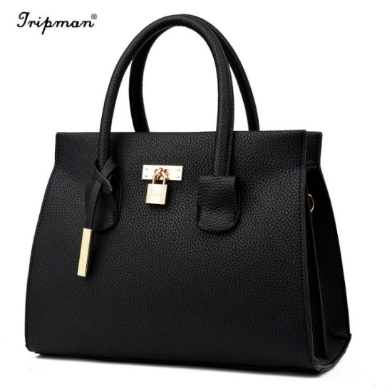 China New Design Women Handbags Top-Handle Female Leather Lady Tote ... 9884593255eb6