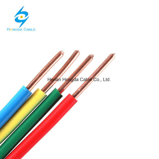 China UL Standard PVC Insulated Copper Conductor Thw Wire Thw Cable ...