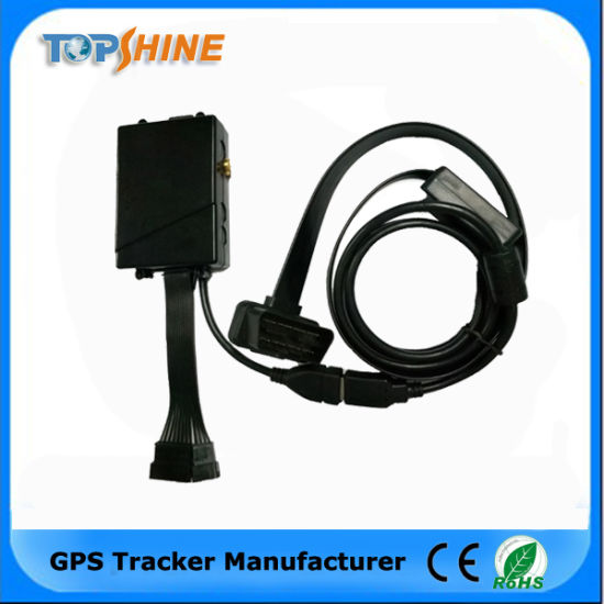 Read Data out From ECU Via OBD2 Vehicle GPS Tracker