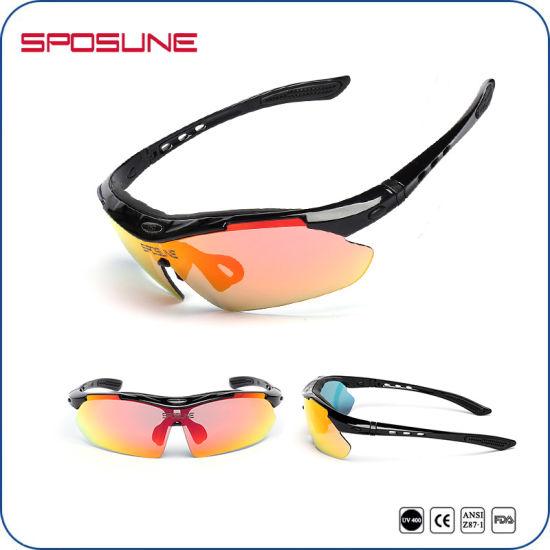 9d7bd2e2542 2017 Iridium Lenses Fashion Cycling Sunglasses with Your Logo Bulk Buy  Driving Sun Glasses Interchangeable Temple