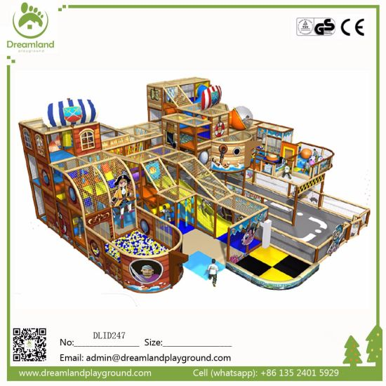 Customized Wholesale Children Funny Indoor Playground Equipment pictures & photos