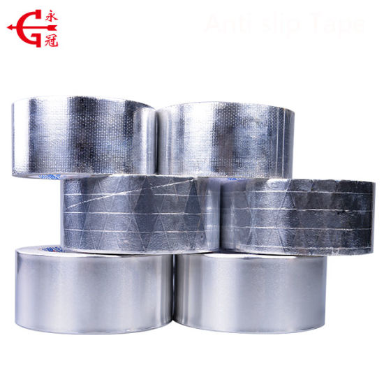 China Manufacture Free Samples Sliver Acrylic Self Adhesive Aluminum Foil Tape