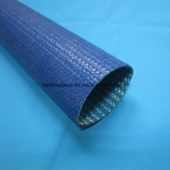 Wire Cable Hose Pipe and Tubing Protection Acrylic Coated Fiberglass Sleeve pictures & photos