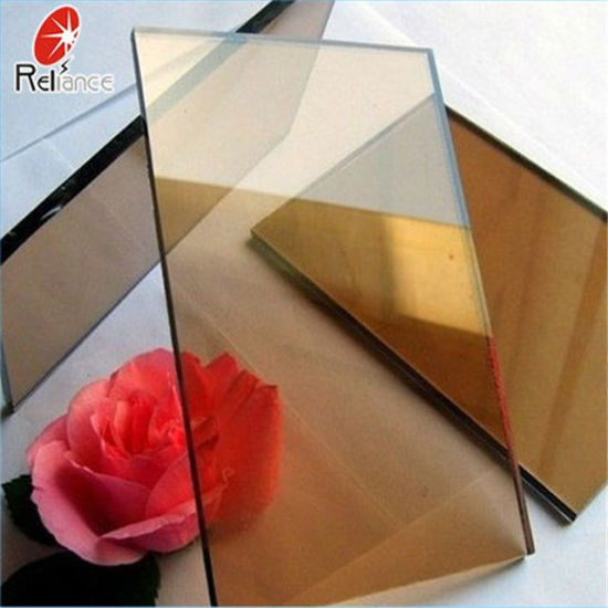 3.5-10mm Ce/ISO Dark Grey Reflective Glass/Building Glass/Float Glass/Tinted Glass pictures & photos