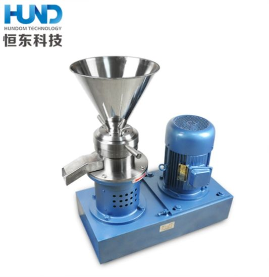 Stainless Steel Peanut Butter Making Machine Furit Jam Colloid Mill pictures & photos