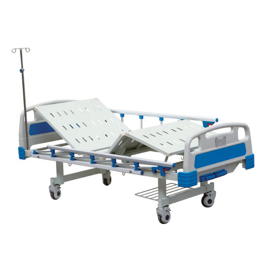 Ce/FDA/ISO Painted Panel Full Fowler Hospital Bed with Competitive Price pictures & photos