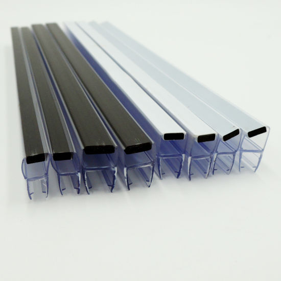 Shower Door PVC Seal Strips Colorful Magnetic Weather Seal Strips pictures & photos