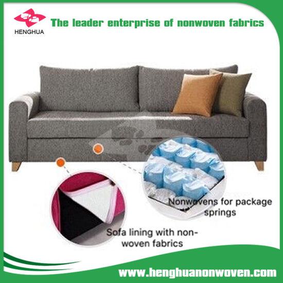 Non Woven 100% Polypropylene Fabrics For Upholstery Furniture