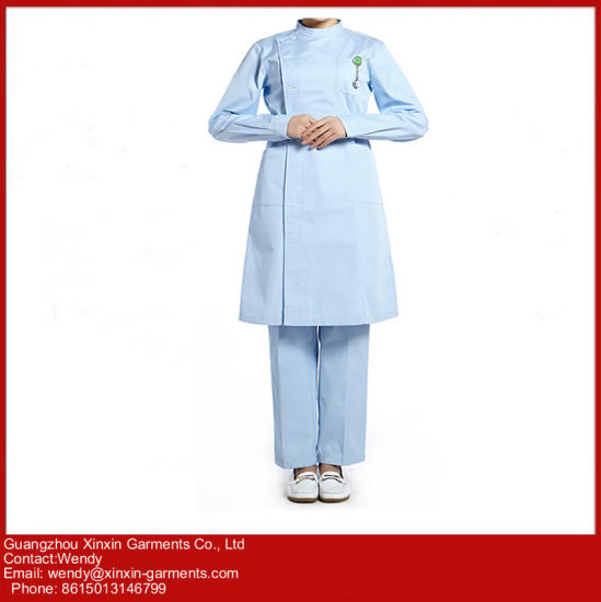 Classical Hospital Uniform Meidical Scrubs Medical Uniform Workwear for Hospital (H6) pictures & photos