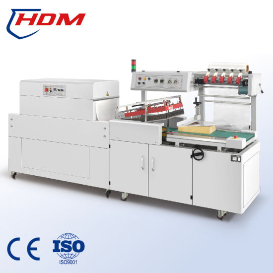 Automatic Small Bottles Group Pack Food Packing POF Shrink Wrap Packing Machine