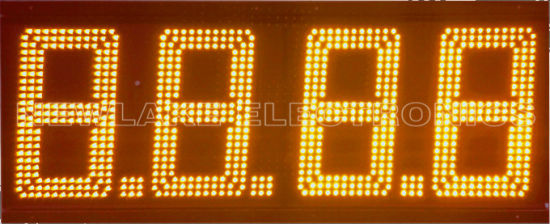 Outdoor 12inch LED Gas Price Display Signs (CE Approved)