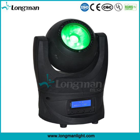 RGBW 60W LED Beam Mini Moving Head Lighting Equipment pictures & photos