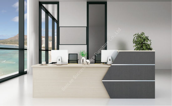 2017 New Style Modern Simple Office Furniture Reception Counter  (BL BMYJB28A)