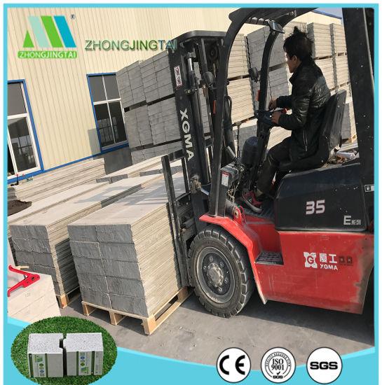 Cost Saving Fiber Cement EPS Sandwich Panel Foam Building Blocks for Houses