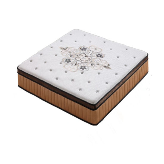 Bedroom Furniture Memory Foam Natural Latex Pocket Coil Spring Mattress