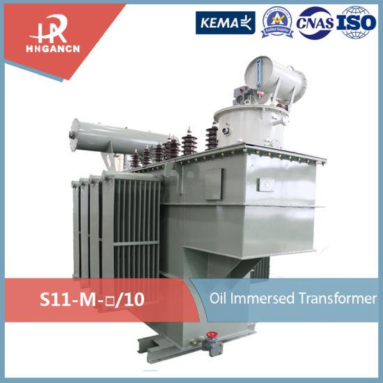 Fully-Sealed Oil-Immersed 10kv Energy Saving Power Transformer