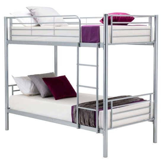 China Twin Metal Bunk Beds Over