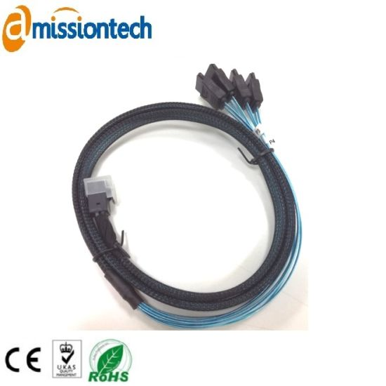 Custom Auto Wire Harness / Electronic Equipment Male and Female Cable Assemblies