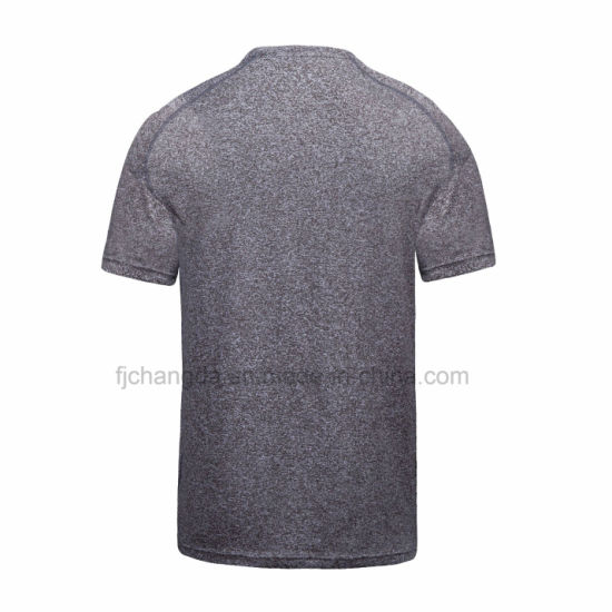 Custom Wholesale Quick Dry Running T Shirt pictures & photos