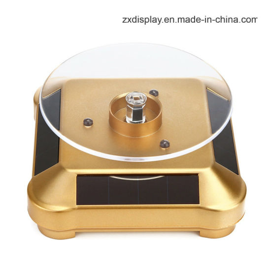 Counter Solar Energy Rotation Jewelry Display Stand for Jewellry Store