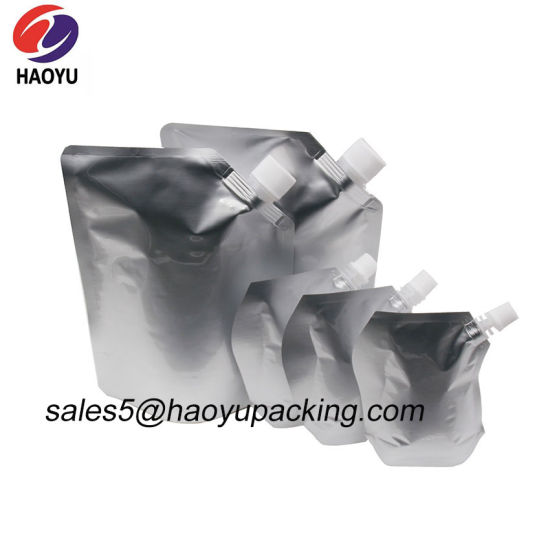 Food Packaging Sachet Withstand 121 Degrees Celsius Customized Aluminum Foil Retort Pouch Stand up Pouch