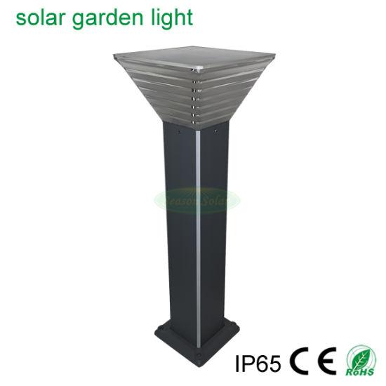 Solar Energy Outdoor Landscape Pathway Solar LED Garden Light with Blue LED Strip Light