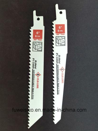 "Metal Wood Cutting Reciprocating Saw Blades For Bi-Metal 6/"" /& 8/"" New"