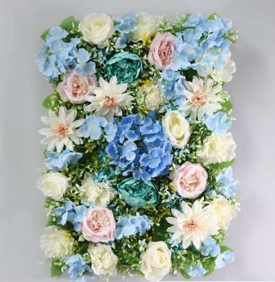 China Artificial Flower Wall For Wedding Party Indoor Outdoor Wall Decor 40cm 60cm China Rose And Artificial Flowers Price