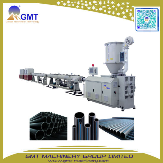HDPE PE PP Jointing Plastic Pipe Water Gas Supply Drain Extruder Extrusion Extruding Making Machine