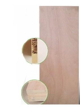 3mm Natural Okoume Wood Veneer Plywood Skin Door for Flush Door Leaf