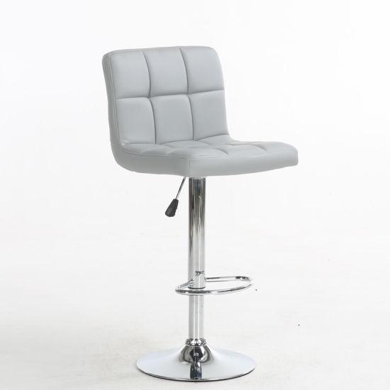 Modern Furniture Wholesale PU High Chair Salon Chair Bar Chair Bar Stool