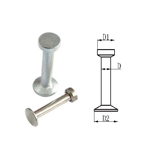 Lifting Anchor (spherical head anchor) -Black, Eg, HDG