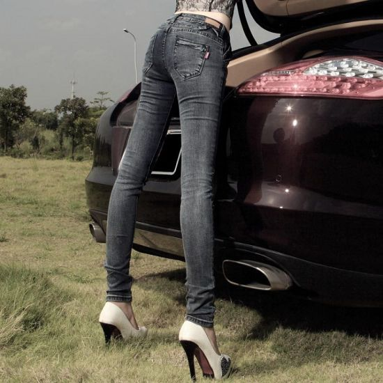 Hot Sale Hot Sexy Tight Jeans For Ladies