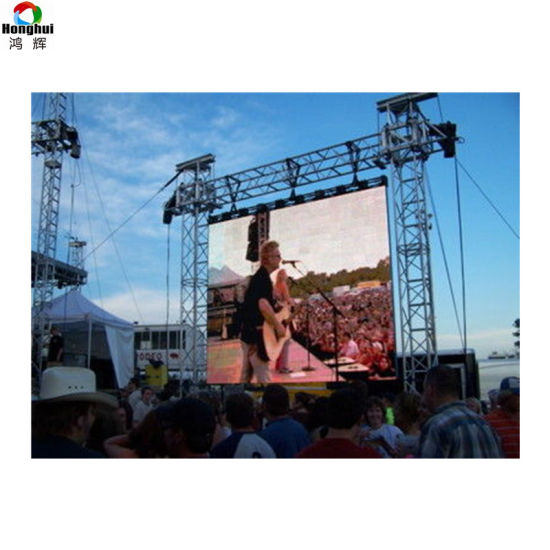 Stage Events Die Casting P3.91 P4.81 Outdoor Advertising Rental LED Video Wall