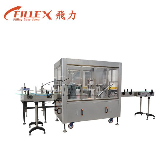 Automatic Roll-Fed Hot Melt Glue OPP BOPP Labeling Machine