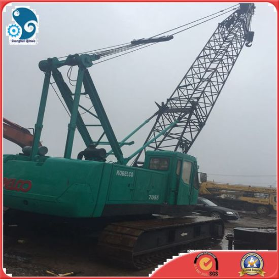 China 7055model 50ton Japan Used Kobelco Hydraulic Crane