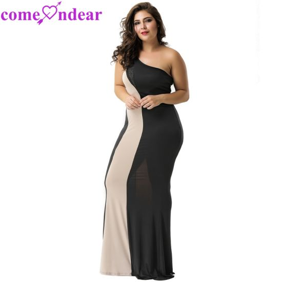 Manufactory Plus Size Women Fashion Sexy Bodycon Evening Dresses