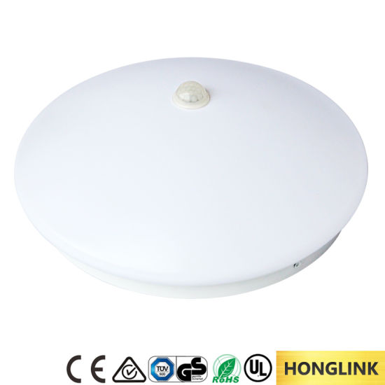 Energy Saving 6W 12W 18W LED Ceiling Lamp Downlight with PIR Sensor pictures & photos