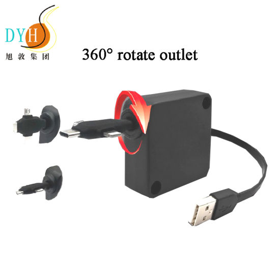 Wholesale Black PCB Board USB Extension Cable for Mobile Phone Charger pictures & photos