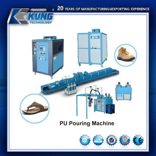 High Quality PU Pouring Shoe Making Machine